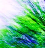 Abrégé sur vert/bleu 10 mélange images stock