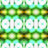 Abrégé sur vert modèle géométrique Photos libres de droits