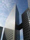 Abrégés sur 5 gratte-ciel Images libres de droits