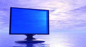 Abrégez l'écran Image libre de droits