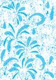 Abrégez l'eau bleue Wet_eps de couleurs Image stock