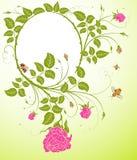 Abrégez la trame florale illustration de vecteur