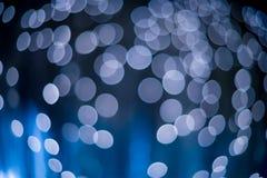 abrégez le fond Bokeh Angles ombragés bleu Photos stock