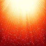 Abrégez le fond brillant d'or. Photo libre de droits