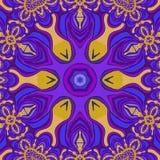 abrégez le fond Couleurs violettes, orange-clair et bleues illustration libre de droits