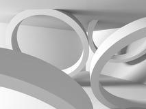 Abrégez le fond d'architecture Concept futuriste Photo libre de droits