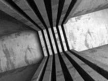 Abrégez le fond d'architecture Constructio concret géométrique Photos libres de droits