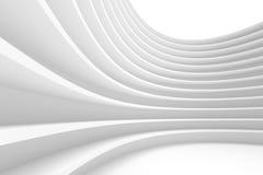 Abrégez le fond d'architecture Construction de bâtiments blanche Image stock