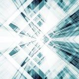 Abrégez le fond d'architecture rendu 3d Photos libres de droits