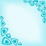 Abrégez le fond de turquoise Image libre de droits