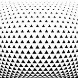 abrégez le fond Dessin géométrique Modèle géométrique abstrait d'image tramée de conception de triangle illustration de vecteur