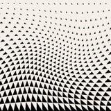 abrégez le fond Dessin géométrique Modèle géométrique abstrait d'image tramée de conception de triangle illustration stock