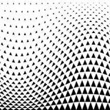 abrégez le fond Dessin géométrique Modèle géométrique abstrait d'image tramée de conception de triangle illustration libre de droits