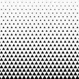 abrégez le fond Dessin géométrique Modèle géométrique abstrait de triangle d'impression de conception de mode de hippie halftone illustration stock