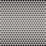 abrégez le fond Dessin géométrique Modèle tramé de triangle d'impression noir et blanc géométrique abstrait de conception graphiq illustration libre de droits