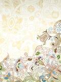 Abrégez le fond floral Photo libre de droits