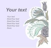 Abrégez le fond floral Image stock