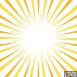 abrégez le fond Les rayons éclat brouillé lumineux Pour votre conception photographie stock
