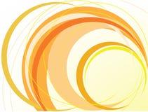 Abrégez le fond orange illustration de vecteur
