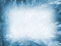 Abrégez le fond. Palette de bleu glacier. Images libres de droits