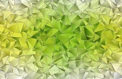 abrégez le fond Texture triangulée Photo libre de droits