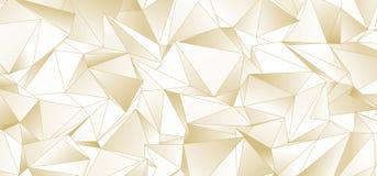 abrégez le fond Texture triangulée Photos libres de droits