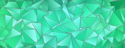 abrégez le fond Texture triangulée Images stock