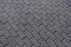 abrégez le fond Trottoir pavé brique Image stock