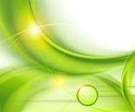 Abrégez le fond vert illustration de vecteur