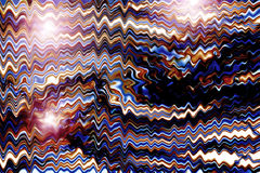 abrégez le fond zigzags colorés Photo stock