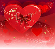 Abrégez le valentine Image stock