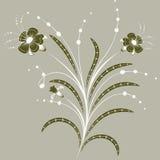 Abrégez les fleurs illustration de vecteur