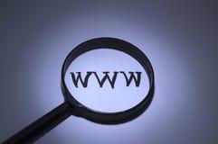 Abréviation WWW Image libre de droits