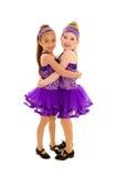 Abraçando amigos da dança de torneira fotos de stock