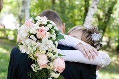 Abraço do amor Imagem de Stock Royalty Free