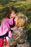 Abraço Loving. Imagens de Stock
