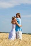 Abraço macio Foto de Stock