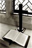 Abra a Bíblia Foto de Stock Royalty Free