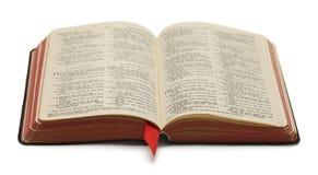 Abra a Bíblia Imagens de Stock
