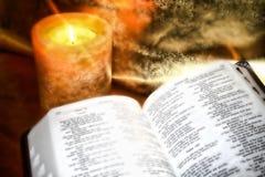 Abra a Bíblia Imagem de Stock