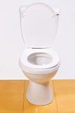 Abra a bacia de toalete Foto de Stock Royalty Free