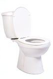 Abra a bacia de toalete Fotos de Stock Royalty Free
