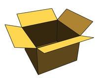 Abra a caixa Imagens de Stock