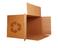 Abra a caixa Foto de Stock