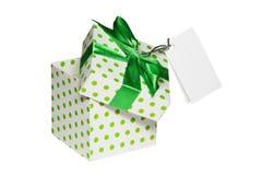 Abra a caixa de presente Fotos de Stock Royalty Free