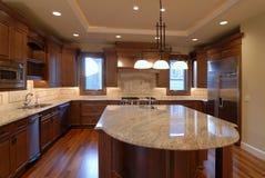 Abra a cozinha Fotografia de Stock