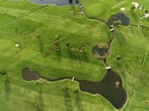 Abra Del Pas golf, Miengo, Cantabria zdjęcia royalty free
