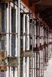 Abra el bloque de célula - prisión del reformatorio del estado de Ohio - Mansfield, Ohio imagenes de archivo
