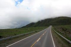 Abra el camino en la Argentina Imagenes de archivo