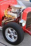 Abra el coche del motor Fotografía de archivo libre de regalías